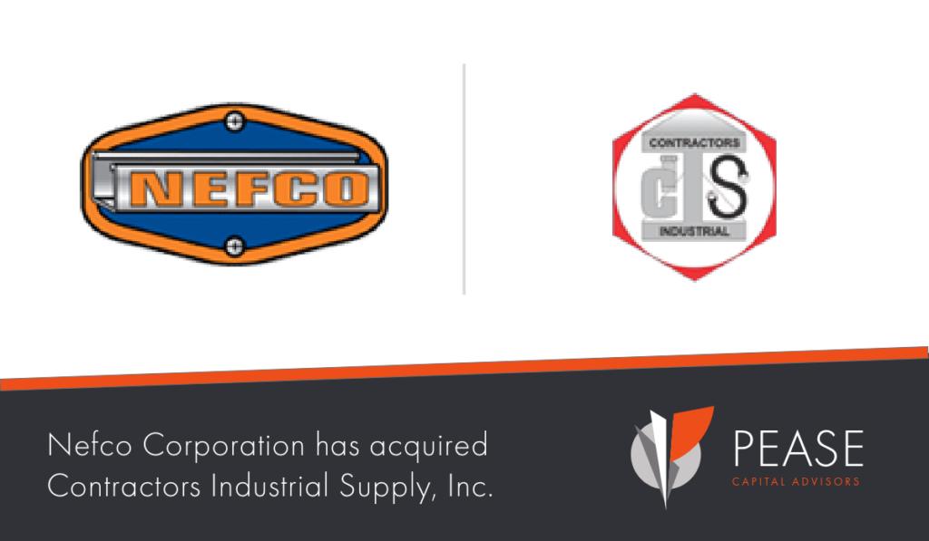 NEFCO - Contractors Industrial Supply, Inc. Deal